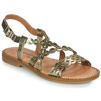 Chaussures Femme Sandales et Nu-pieds Remonte Dorndorf JULLIA Doré
