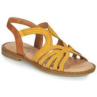 Chaussures Femme Sandales et Nu-pieds Remonte Dorndorf SANDA Jaune / Marron