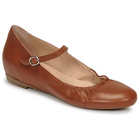 Chaussures Femme Ballerines / babies Casual Attitude OLIVIA Camel