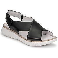 Chaussures Femme Sandales et Nu-pieds Casual Attitude ODILE Noir