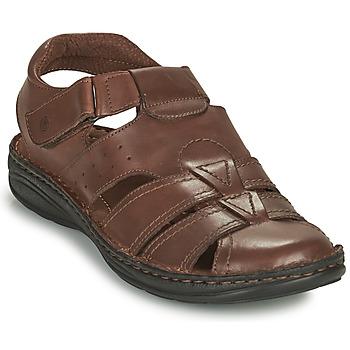 Chaussures Homme Sandales et Nu-pieds Casual Attitude ODOUNE Marron