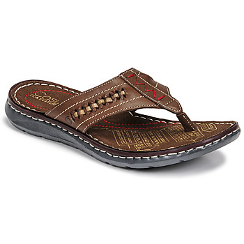 Chaussures Homme Tongs Casual Attitude OPOM Marron