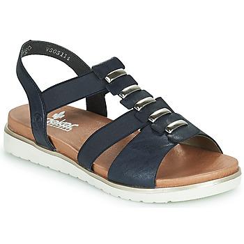Chaussures Femme Sandales et Nu-pieds Rieker NINNA Bleu