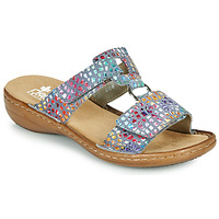 Chaussures Femme Mules Rieker FOUNNA Multicolore