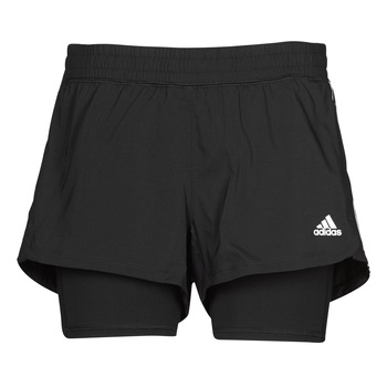 Vêtements Femme Shorts / Bermudas adidas Performance PACER 3S 2 IN 1 Noir