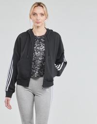 Vêtements Femme Vestes de survêtement adidas Performance W 3S FZ HD Noir