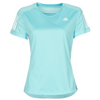Vêtements Femme T-shirts manches courtes adidas Performance OWN THE RUN TEE Bleu