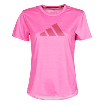 Vêtements Femme T-shirts manches courtes adidas Performance BOSOGO Rose