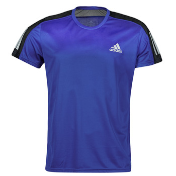 Vêtements Homme T-shirts manches courtes adidas Performance OWN THE RUN TEE Bleu