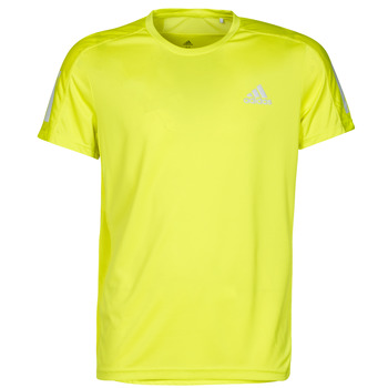 Vêtements Homme T-shirts manches courtes adidas Performance OWN THE RUN TEE Jaune