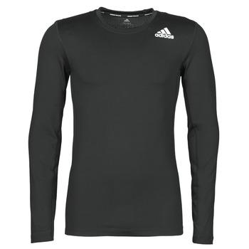 Vêtements Homme T-shirts manches longues adidas Performance TIFOLOST Noir
