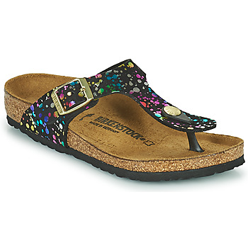Chaussures Fille Tongs Birkenstock GIZEH Noir
