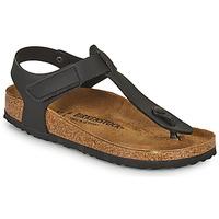 Chaussures Enfant Tongs Birkenstock KAIRO HL Noir