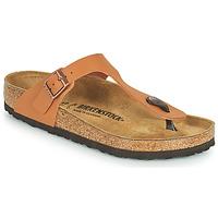Chaussures Femme Tongs Birkenstock GIZEH Marron