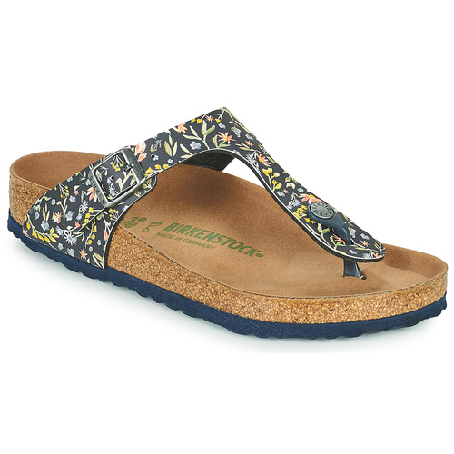 Chaussures Femme Tongs Birkenstock GIZEH Bleu