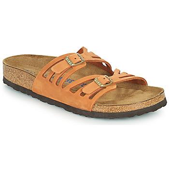 Chaussures Femme Mules Birkenstock GRANADA SFB Orange