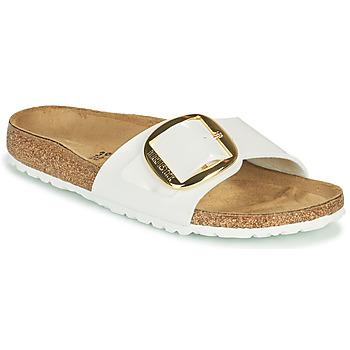 Chaussures Femme Mules Birkenstock MADRID BIG BUCKLE Blanc