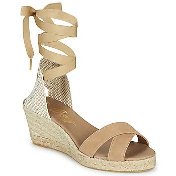 Chaussures Femme Sandales et Nu-pieds Betty London IDILE Beige
