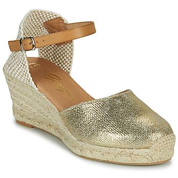 Chaussures Femme Sandales et Nu-pieds Betty London CASSIA Doré