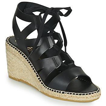 Chaussures Femme Sandales et Nu-pieds Betty London OLEBESY Noir