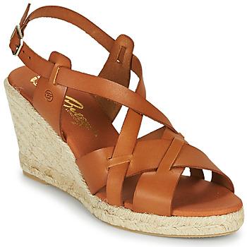 Chaussures Femme Sandales et Nu-pieds Betty London OSAVER Camel