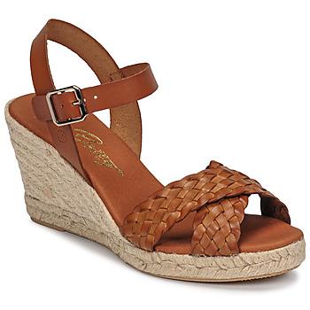 Chaussures Femme Sandales et Nu-pieds Betty London OBILLIE Marron