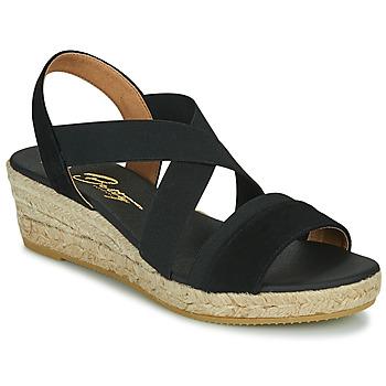 Chaussures Femme Sandales et Nu-pieds Betty London OLINDR Noir