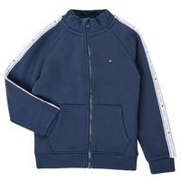 Vêtements Garçon Sweats Tommy Hilfiger  Marine