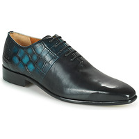 Chaussures Homme Richelieu Melvin & Hamilton LANCE 61 Noir / Bleu