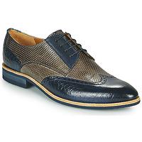 Chaussures Homme Derbies Melvin & Hamilton BOBBY 1 Gris / Bleu