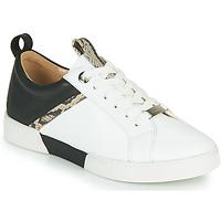 Chaussures Fille Baskets basses JB Martin GELATO Blanc / Noir