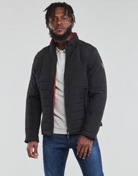 Vêtements Homme Doudounes Guess  Noir / Orange