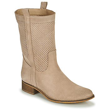 Chaussures Femme Bottes ville Betty London ONEVER Beige