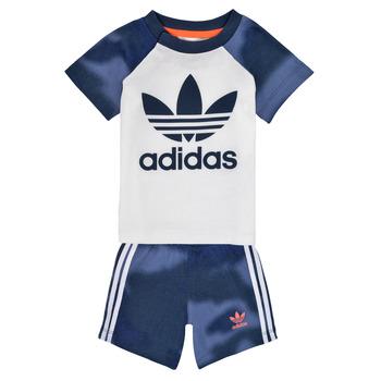 Vêtements Garçon Ensembles enfant adidas Originals GN4110 Blanc