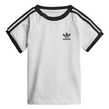 Vêtements Enfant T-shirts manches courtes adidas Originals DV2824 Blanc
