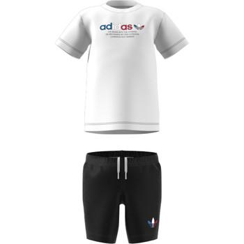 Vêtements Enfant Ensembles enfant adidas Originals GN7413 Blanc