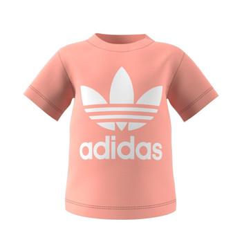 Vêtements Enfant T-shirts manches courtes adidas Originals GN8176 Blanc