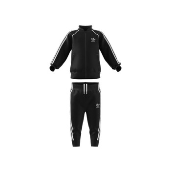Vêtements Enfant Ensembles de survêtement adidas Originals GN8441 Noir