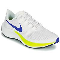 Chaussures Homme Running / trail Nike AIR ZOOM PEGASUS 37 Blanc / Bleu / Jaune