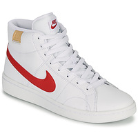 Chaussures Homme Baskets basses Nike COURT ROYALE 2 MID Blanc / Rouge