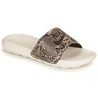 Chaussures Femme Claquettes Nike VICTORI PRINT BENASSI Kaki
