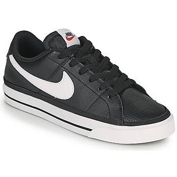 Chaussures Femme Baskets basses Nike COURT LEGACY Noir / Blanc