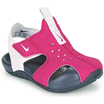 Chaussures Fille Claquettes Nike Sunray Protect 2 TD Violet