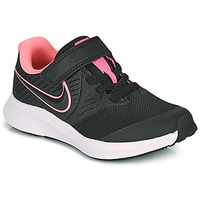 Chaussures Fille Multisport Nike STAR RUNNER 2 PS Noir / Rose