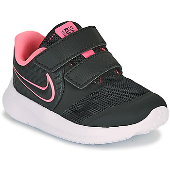 Chaussures Fille Multisport Nike STAR RUNNER 2 TD Noir / Rose