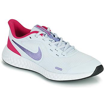 Chaussures Fille Multisport Nike REVOLUTION 5 GS Bleu / Violet