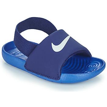 Chaussures Garçon Claquettes Nike NIKE KAWA TD Bleu