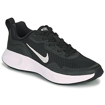 Chaussures Enfant Multisport Nike WEARALLDAY GS Noir / Blanc