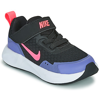 Chaussures Fille Multisport Nike WEARALLDAY TD Noir / Bleu