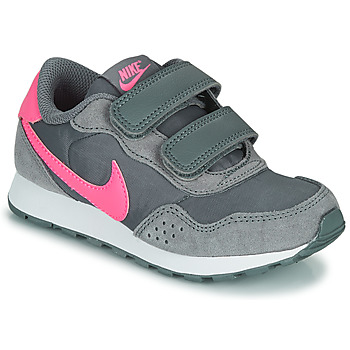 Chaussures Fille Baskets basses Nike MD VALIANT PS Gris / Rose